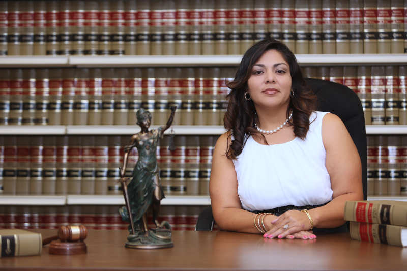 Paralegal in law office